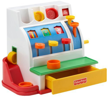 Caisse enregistreuse  Fisher Price