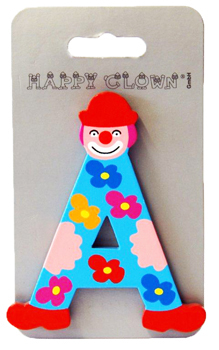 Lettre Clown Happy Clown