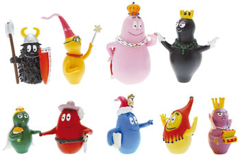 Tube de figurines Plastoy