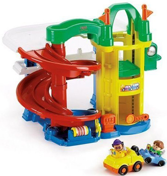Garage des Découvertes Fisher Price