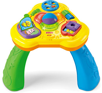 Table sons et lumières Fisher Price