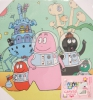 Tableau Barbapapa Mondial Mix