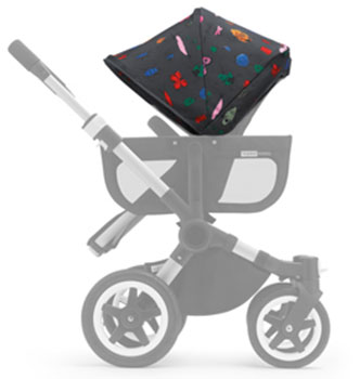 Capote extension duo-twin Bugaboo Donkey